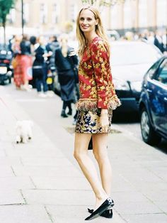 The Embroidered Skirt