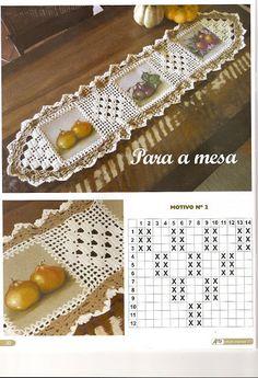 Caminhos de mesa - Maria de Lourdes - Picasa 网络相册