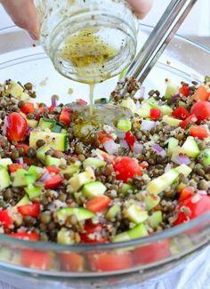 recetas-de-ensaladas-con-lente-pepino-y-cebolla