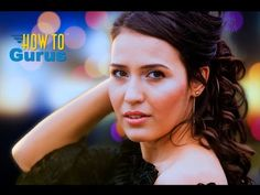 How to Replace a Background with a Bokeh Effect in Photoshop Elements 14 13 12 11 Tutorial - YouTube