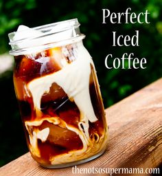 Perfect Iced Coffee from thenotsosupermama.com
