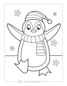 cute penguin coloring pages.html