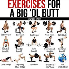 """, """"Exercises to grow a bigger butt - Trying to build bigger glutes? Try implementing some of these…"""". , """"Exercises to grow a bigger butt - Trying to build bigger glutes? Rumpf Training, Weight Training Workouts, Gym Workouts, At Home Workouts, Gym Machine Workouts, Weight Machine Workout, Leg Workouts For Men, Leg And Glute Workout, Band Workout"""
