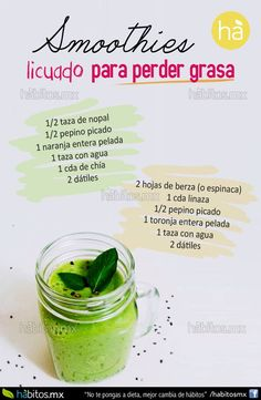 Hábitos Health Coaching | SMOOTHIES RICOS Y LIGEROS