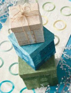 DIY::How to Make Mini Gift/ Storage Boxes