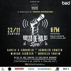 "Amnistía Internacional Venezuela llama a continuar activismo: ""Basta De Balas Live!"" http://crestametalica.com/evento/amnistia-internacional-venezuela-llama-a-continuar-activismo-basta-de-balas-live/ vía @crestametalica"