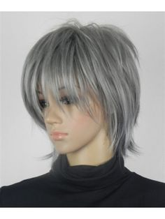 Get your favorite Straight Chin Length Capless Best Grey Wigs at lowest price possible. New arrivals and trendy wigs.The most natural look & feel. It gives you realistic look from every angle. Stacked Bob Hairstyles, 2015 Hairstyles, Trending Hairstyles, Pixie Hairstyles, Cool Hairstyles, Pixie Haircuts, Short Hair With Layers, Short Hair Cuts, Short Hair Styles