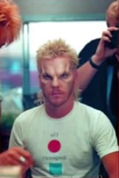 Kiefer Sutherland, makeup test for The Lost Boys