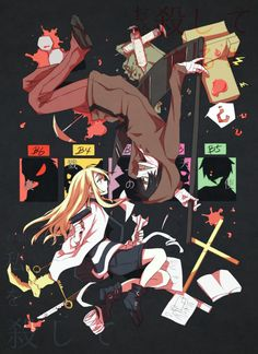 """Read [Angel of Death][RPG Horror] from the story [Game Doujinshi + Manga][RPG Horror] """"Angel of Death"""" by Sugar_Sugary (. Angel Of Death, Corpse Party, Me Anime, Anime Love, Fanart, Manga Angel, Magic Anime, Mad Father, Rpg Horror Games"""