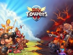 Holy Towers (Unreleased) android game first look gameplay español