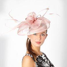 Light pink rose bud mesh hair band - Fascinators - Hats & fascinators - Women -