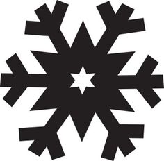 snowflake clipart simple snowflake clip art vector clip art rh pinterest com white snowflakes clipart free white snowflake clipart transparent background