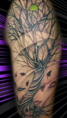 oak leaf tattoo meaning - Google Search