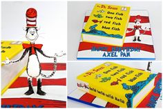 Celebrate with Cake added 549 new photos to the. - Celebrate with Cake Red Fish Blue Fish, One Fish Two Fish, Dr Suess Cakes, Ads, Celebrities, Photos, Celebs, Pictures, Celebrity