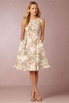 BHLDN Gardenia Fit and Flare in  Bridesmaids Bridesmaid Dresses at BHLDN