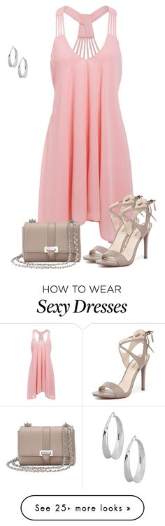 """""""Dress Under $50"""" by earthlyangel on Polyvore featuring GUESS, Aspinal of London, Robert Lee Morris and Dressunder50"""