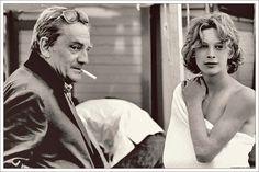 Björn with Luchino Visconti