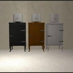 I created this in response to a request from Nonni! Thanks for the request Nonni. It is a fully working fridge, found with refrigerators for Credit to Nonni for the idea. Refrigerators, Appliances, Great Inventions, Gas And Electric, Sims 2, Locker Storage, Victorian Goth, Antiques, Challenge
