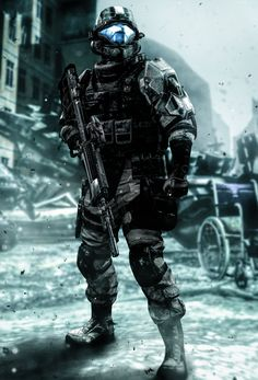 Tactical Urban ODST by LordHayabusa357.deviantart.com on @DeviantArt