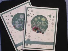 Stampin'Up! Celebrate Today Shaker Card