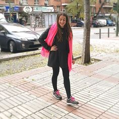 New Balance ❤  #wednesday #monturquoise #outfitday #confy #fashion  #style #sportlook #newbalance #sneakers #pink #look #streetstyle #sporty #outfit