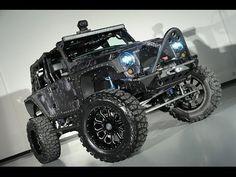 2014 Lifted Jeep Wrangler Unlimited NightStalker Kryptek Typhon