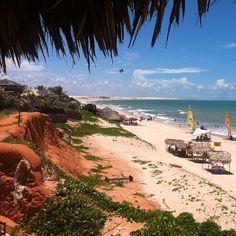 Praia de Canoa Quebrada em Aracati, CE