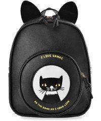World-Style.cz Dívčí batoh batůžek s oušky kočička - černá