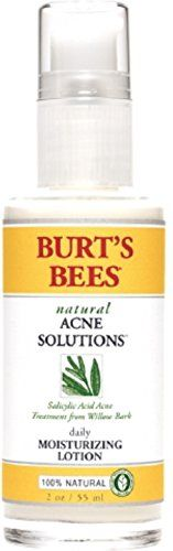 Burt's Bees Natural Acne Solutions Daily Moisturizing Lotion 2 oz (Pack of 12) * Visit the image link more details.