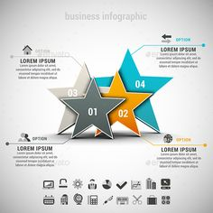 #Business #Infographic - Infographics Download here: https://graphicriver.net/item/business-infographic/10643157?ref=alena994