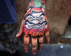 Explore symbols of good luck and perseverance with the top 60 best Daruma Doll tattoo designs for men. Japanese Hand Tattoos, Japanese Tattoo Designs, Tattoo Designs Men, Daruma Doll Tattoo, Hannya Tattoo, Girls With Sleeve Tattoos, Hand Tattoos For Guys, Black Crow Tattoos, Animal Skull Tattoos