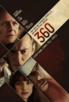 360 , starring Rachel Weisz, Jude Law, Anthony Hopkins, Ben Foster. A dramatic thriller that weaves together the stories of an array of people from disparate social backgrounds through their intersecting relationships. #Drama #Romance