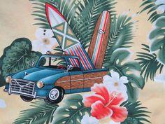 1980 Mens Hawaiian Aloha Shirt by Hilo Hattie Size Medium | Etsy Vintage Shirts, Vintage Men, Hawaiian Wear, Island Wear, Plumeria Flowers, Aloha Shirt, Hawaii Vacation, Yellow Background, Hibiscus