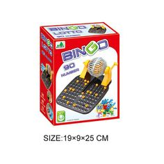 Bingo lotto machine with 90 mumber balls - china Table Game manufacturer - Shantou Bana Import & Export Co., Ltd