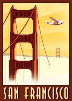 San Francisco  Konstnär: Steve Forney    http://www.easyart.se/canvastavlor/Steve-Forney/San-Francisco-411465.html