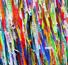 Ribbons from Bahia. Make a wish ;)