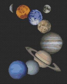 Hey, I found this really awesome Etsy listing at https://www.etsy.com/listing/112906468/solar-system-counted-cross-stitch-chart