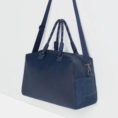 繩帶提手保齡球包 Gym Bag, Zara, Shoulder Bag, Fashion, Moda, Fashion Styles, Shoulder Bags, Fashion Illustrations