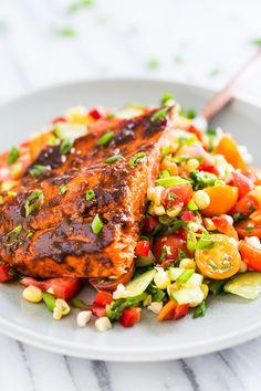 Cajun Honey Glazed Salmon | Get Inspired Everyday!