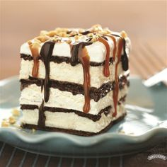 Ice Cream Sandwich Dessert from Smucker's®