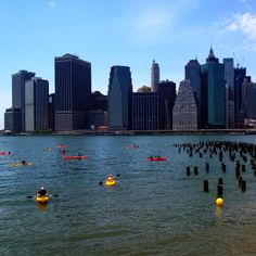 Wow! Did you know you can rent free kayaks in NYC? Pretty awesome. Would love to do this!