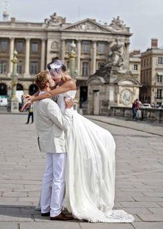 Casamento em Paris.