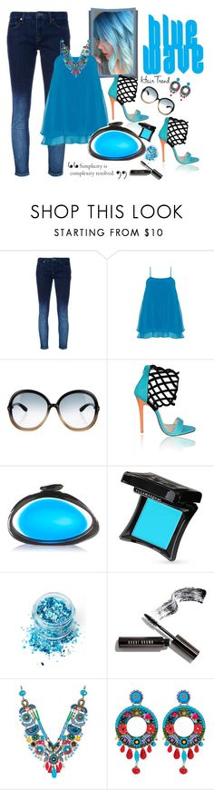 """""""Blue Wave"""" by juliehooper ❤ liked on Polyvore featuring beauty, Victoria, Victoria Beckham, Manon Baptiste, Tom Ford, Benedetta Bruzziches, Illamasqua, In Your Dreams, Bobbi Brown Cosmetics, Ayala Bar and hairtrend"""
