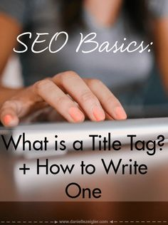A title tag tells search engines what your webpage is about. Include relevant keywords, but don't stuff it with keywords.