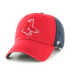 0004f6c9fe5ba Boston Red Sox  47 Brand Flagstaff Clean Up Hat
