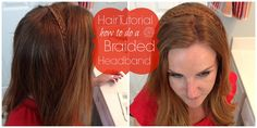 Hair Tutorial: A Braided Headband - Extraordinary Mommy
