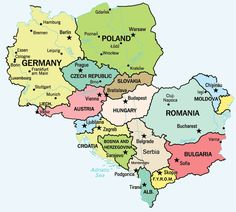 204 Best MAPS/Europe/Eastern Europe images   World maps, Cards, Europe