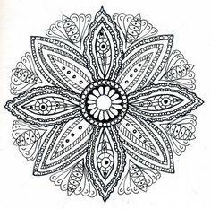 immagine Mandala per adulto da colorare