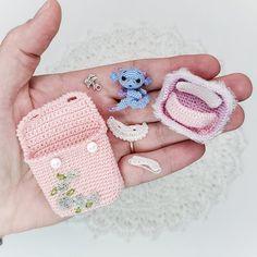 Crochet Teddy, Hand Crochet, Crochet Baby, Tiny Dragon, Miniature Dogs, Little Elephant, Cool Toys, Kids Playing, My Etsy Shop