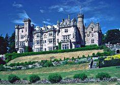 Skibo Castle near Dornoch by Christine Matthews - near to Clashmore, Highland, Great Britain